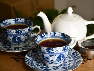 オンライン基礎クラス(紅茶を知る)の淹れたて紅茶