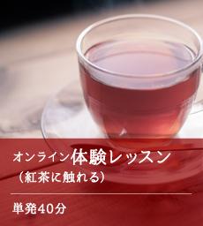 オンライン体験レッスン(紅茶に触れる)